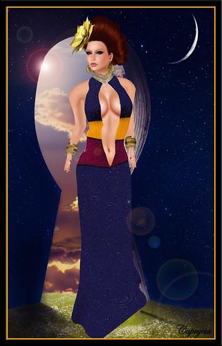Amarelo manga Elsa Schiaparelli by Caprycia ♕VeraWangMF2014♕