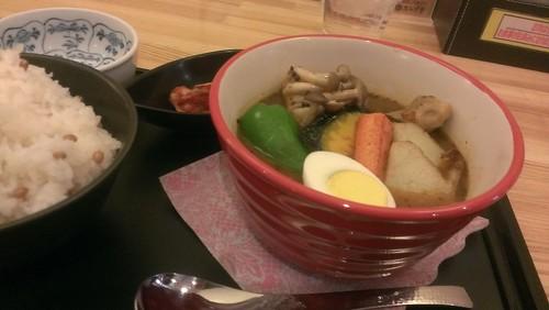 SAPPOROスープ堂:チキン野菜