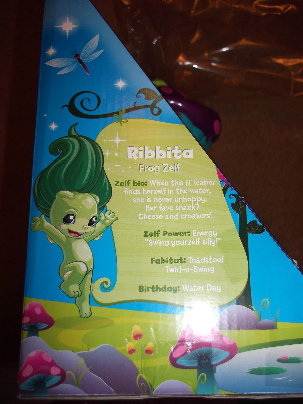 Ribbita's bio