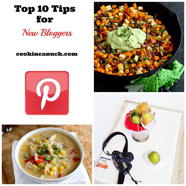 Top 10 Tips for New Bloggers | cookincanuck.com #bloggingtips #blogging