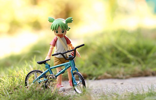 i bought a bike for yotsuba today..