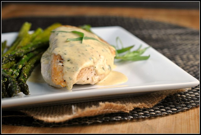 Chicken with Mustard Cream Sauce 1