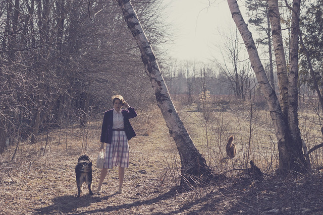 spring vintage skirt