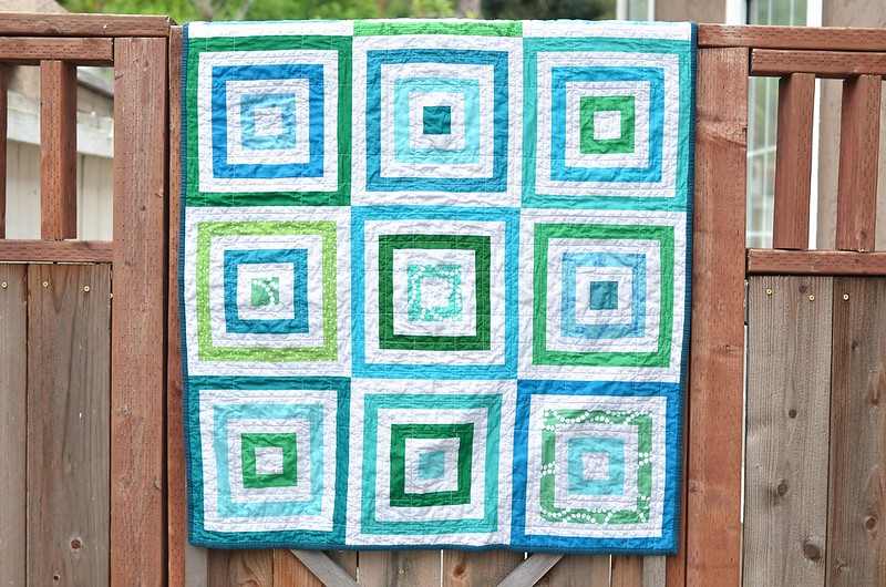 lots of squares quilt