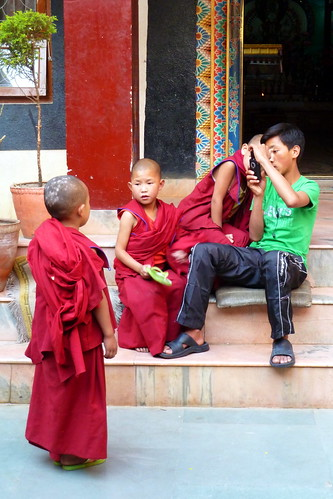 Nepal - Kathmandu - Buddhist Novices