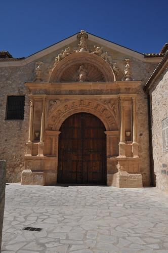 Corral de Almaguer (Toledo). Iglesia de Nuestra Señora de la Asunción. Portada