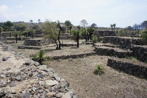 Cantona. Arqueological Site