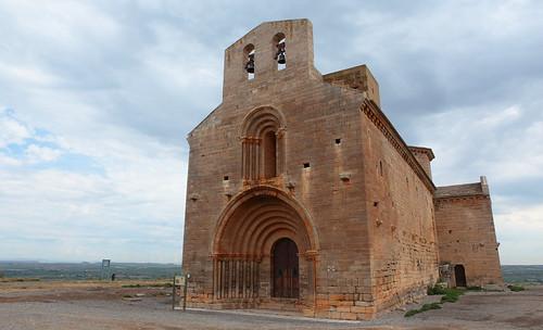 Santa María de Chalamera, Huesca, España.