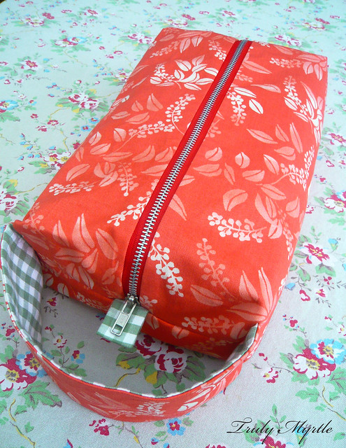Zippered Knitting Project Bag Tutorial : New project bag flickr photo sharing