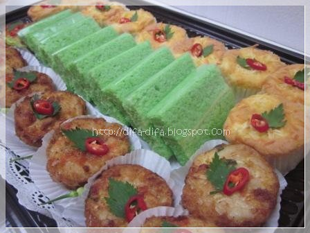 Snack Nampan 3 in 1 by DiFa Cakes