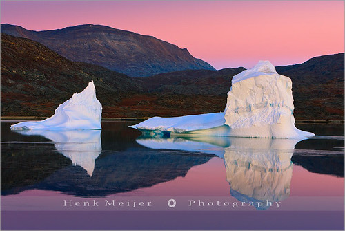 morning winter light orange snow cold ice water sunrise canon landscape glow view dusk east arctic greenland gradient fjord iceberg viewpoint icebergs silentwaters scoresbysund floydian canoneos1dsmarkiii henkmeijer rodefjord rødefjord