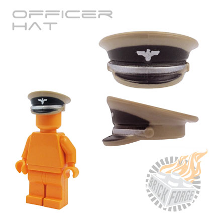 Officer Hat - Dark Tan (Nationalist Party)