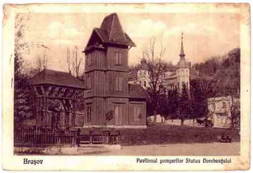 Pavilionul pompierilor Brasov -1929