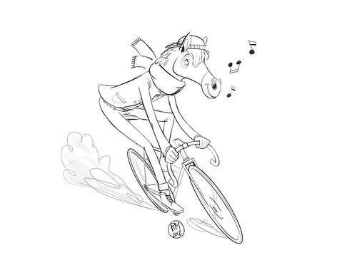 Bici! wip by WAKI Studio