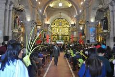 Misa dins l'església