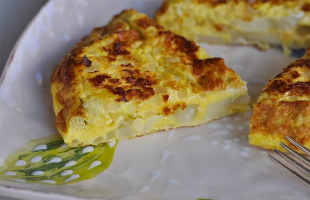 Tortilla Española  -  Spanish Omelette