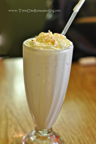 Frozen Coconut Drink at Chimborazo ~ Minneapolis, MN