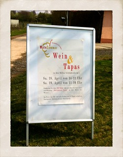 Schwabenheimer Weinsommer 2012: Wein & Tapas in den Höfen Schwabenheims am 28. und 29. April