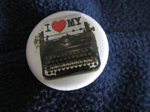 Typewriter pin