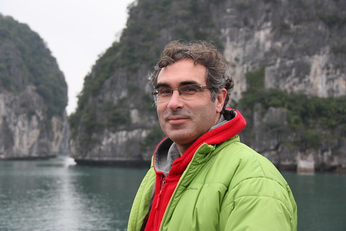 "In the cold ""tropical"" Ha Long bay"