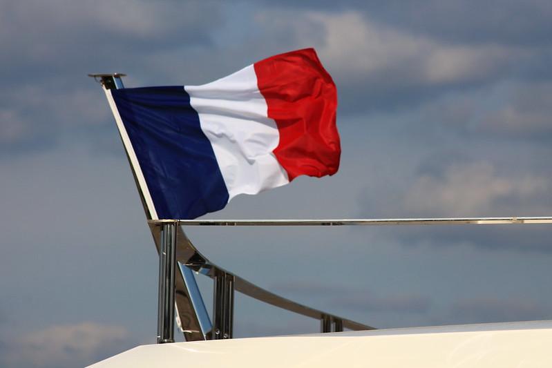 """95% du navire a été construit par des artisans français - """"La Pellegrina"""" - Bordeaux - 15 avril 2012"""