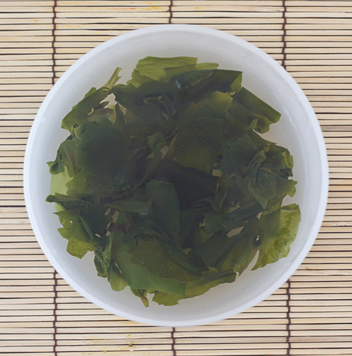 reconstituted wakame