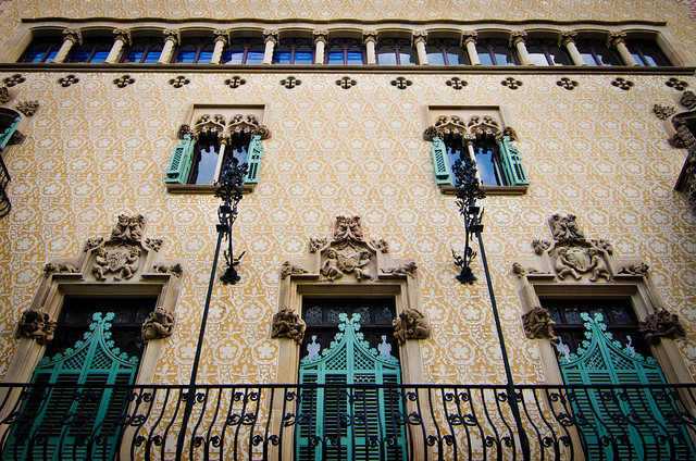 Cadafalch's stunning Casa Amattler is often overshadowed by its neighbor, Gaudi's Casa Battlo.