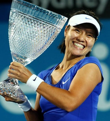 early May 2012: Tennis player Li Na - No. 5 on Forbes China Top 100 Celebrities list
