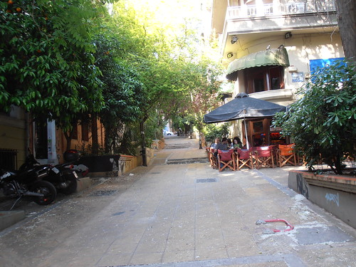 Athens: Street in Exarhia