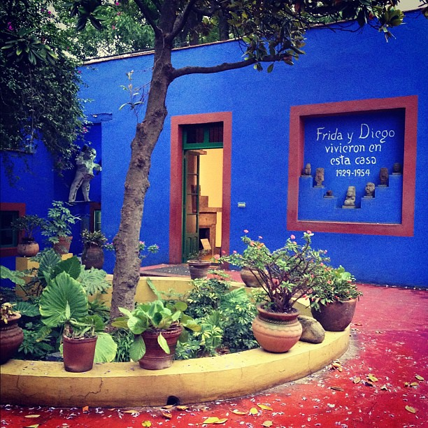 """Frida and Diego lived in this house"", Coyoacán"