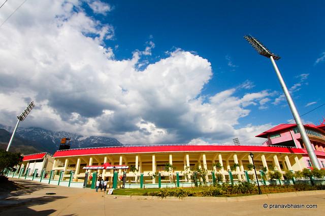 HPCA, Dharamshala Cricket Stadium by Pranav Bhasin