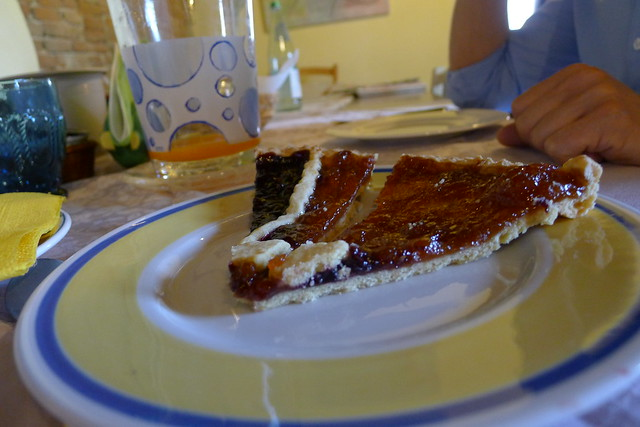 Crostata at Corte Ceson agritourism