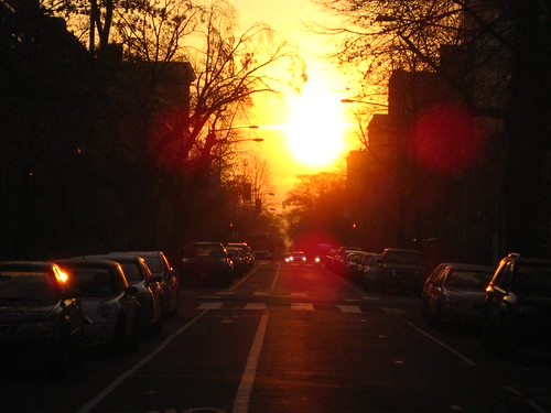 Sunrise over R Street
