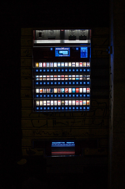 Vending Machine at Night