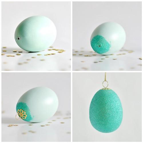 Glittering eggs