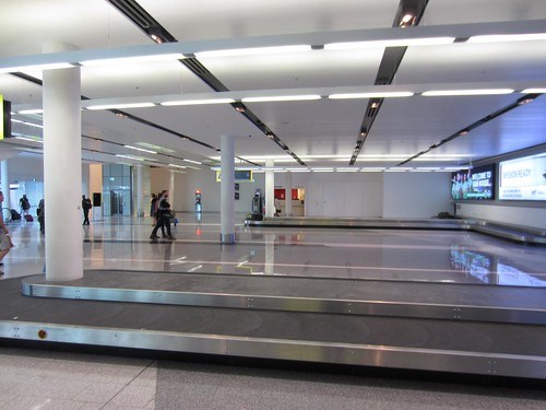 Empty Baggage Area