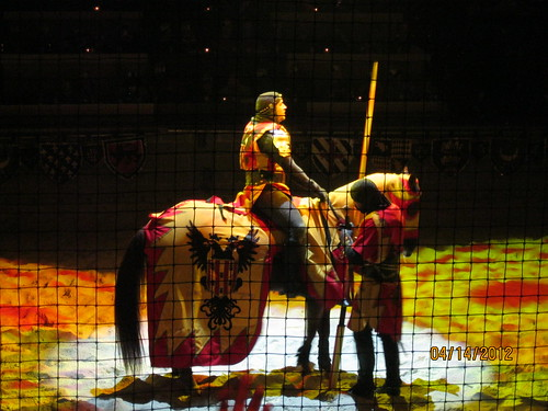 Medieval Times - The victor!