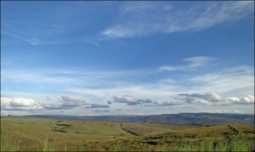 View over the Highveld, Mpumalanga, RSA.