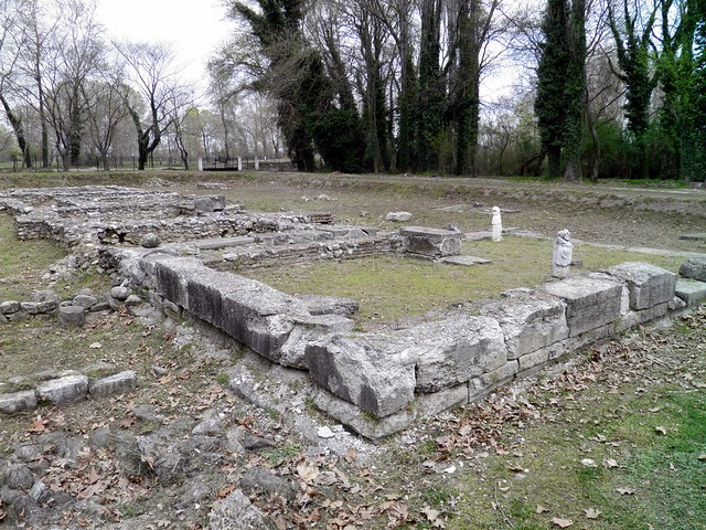 The Sancturay of Demeter, Ancient Dion