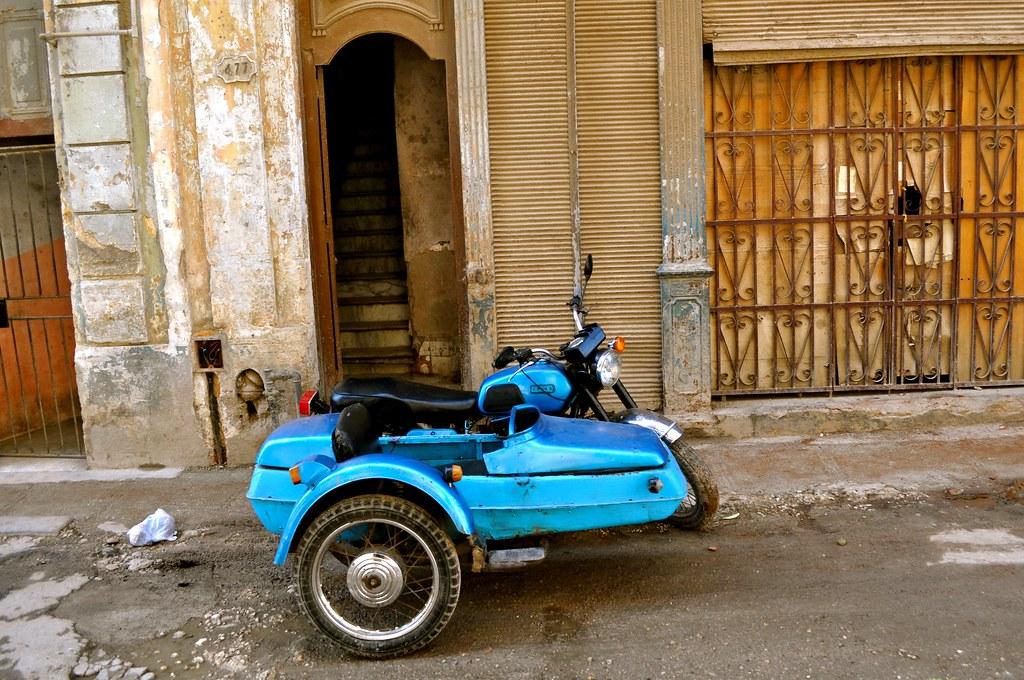 motorbike cuba