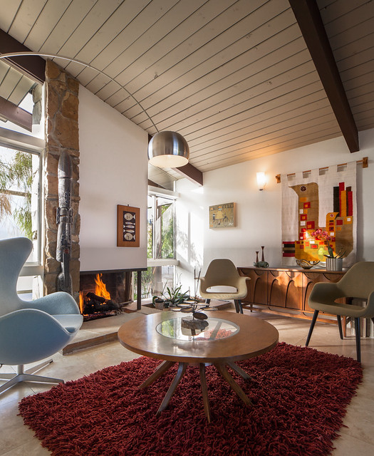 Midcentury Living Room: Modernist Architecture: William Krisel