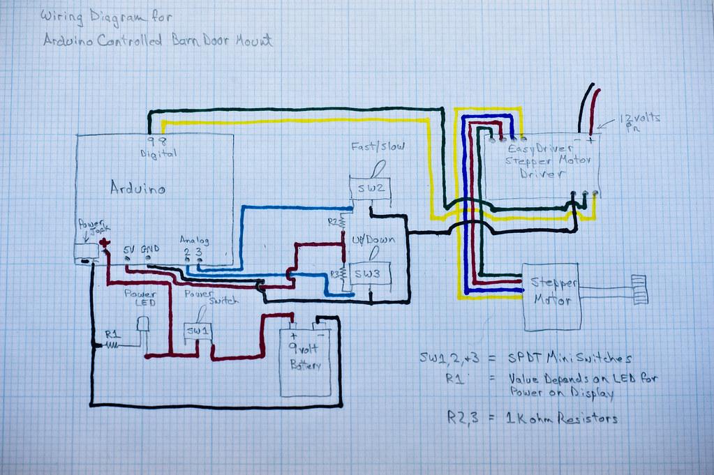 Arduino Controlled Barn Door Project