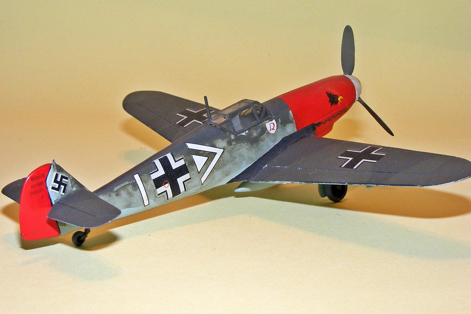 Bf 109F de Hans Von Hahn