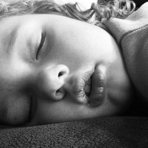 Sleeping beauty.