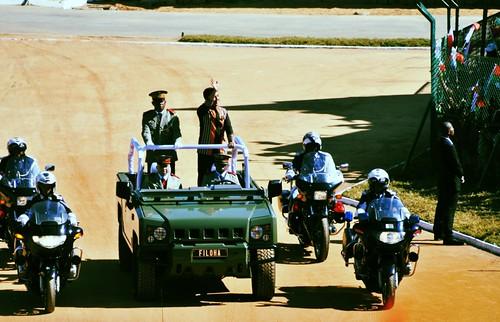 Entrée de Andry Rajoelina 2