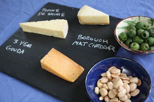 Continental Cheese Plate