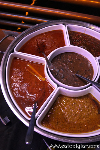 Various sauces, The Village, Pullman Putrajaya Lakeside