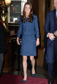 Catherine, Duchess of Cambridge Kate Middleton Tweed Jacket Celebrity Style Women's Fashion