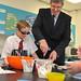 Education Minister visits Jordanstown Special School, 28 June 2012
