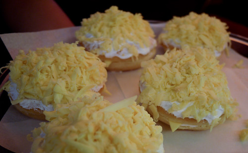 Cheezy Rich at JCo Donuts